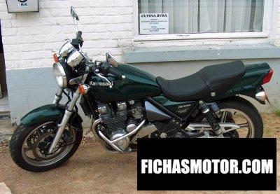 Imagen moto Kawasaki zephyr 550 año 1997