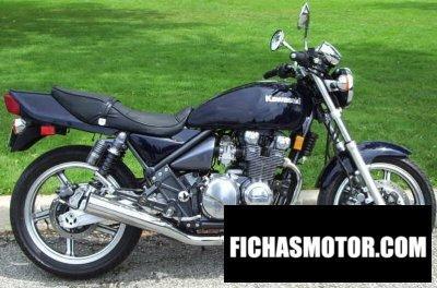 Imagen moto Kawasaki zephyr 550 año 1998