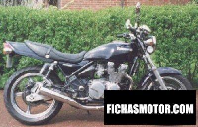Imagen moto Kawasaki zephyr 550 año 1999