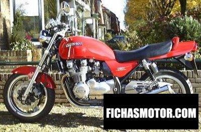 Ficha técnica Kawasaki zephyr 750 1991