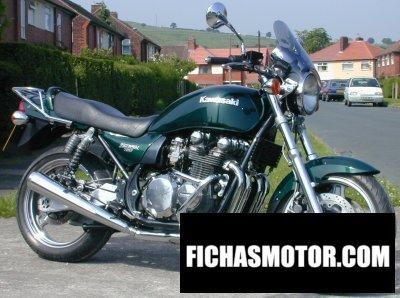Imagen moto Kawasaki zephyr 750 año 1993