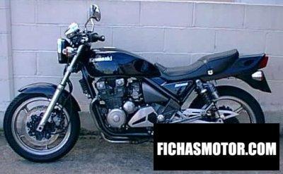 Ficha técnica Kawasaki zephyr 750 1994