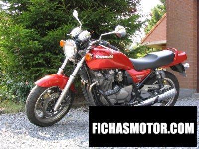 Ficha técnica Kawasaki zephyr 750 1995