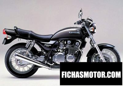 Imagen moto Kawasaki zephyr 750 año 1997