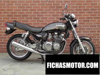 Ficha técnica Kawasaki zephyr 750 1998