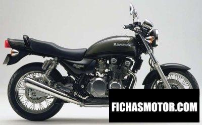 Ficha técnica Kawasaki zephyr 750 1999