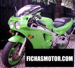 Imagen moto Kawasaki zxr 750 r (reduced effect) 1991