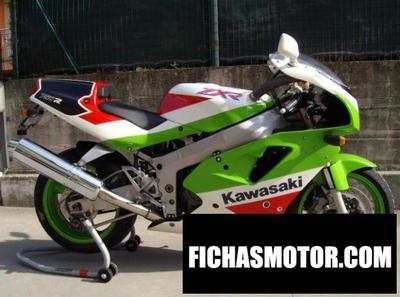Ficha técnica Kawasaki zxr 750 (reduced effect) 1992