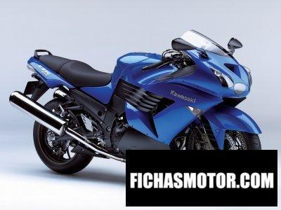 Imagen moto Kawasaki zzr 1400 año 2006