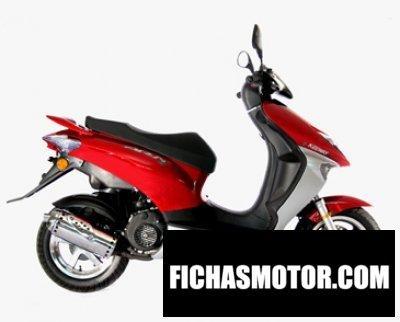 Imagen moto Keeway arn 50 año 2010