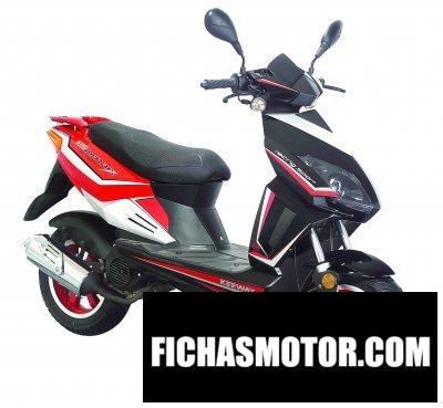 Imagen moto Keeway matrix 125 año 2007