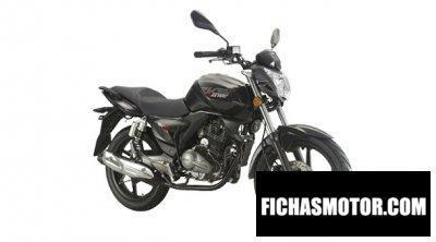 Obraz motocykla Keeway rks 200 rok 2013