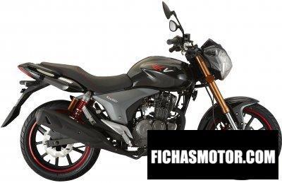 Imagen moto Keeway rkv 125 año 2013