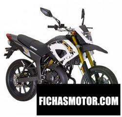 Imagen moto Keeway tx125 supermotard 2010