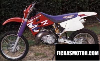 Ficha técnica Kramit 250 enduro 2001
