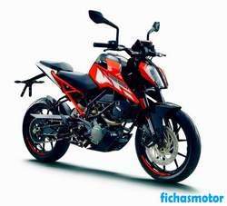 Imagen de KTM 125 Duke año 2020