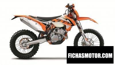 Imagen moto Ktm 250 exc-f año 2016