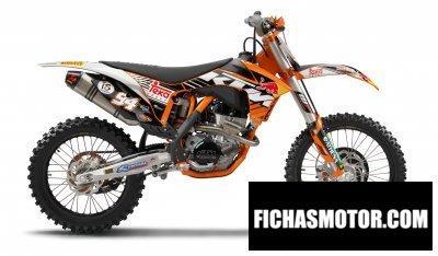 Imagen moto Ktm 250 sx-f roczen edition año 2012