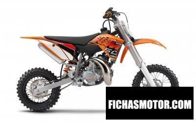 Imagen moto Ktm 50 sx año 2014