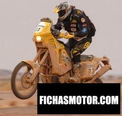 Imagen moto Ktm 690 lc4 rally replica 2008