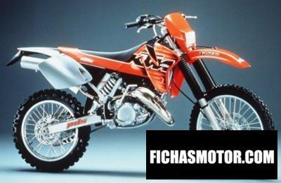 Imagen moto Ktm exc 125 año 1999