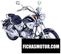 Imagen moto Kymco 125 hipster 4v l-bar 2005