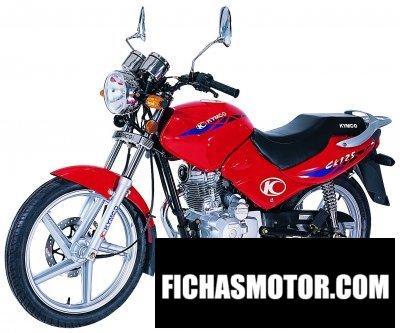 Imagen moto Kymco 125 pulsar ck año 2005