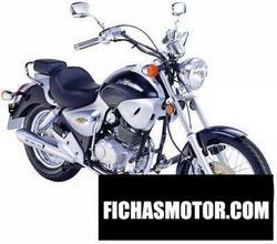 Imagen moto Kymco hipster 125 4v h-bar 2004