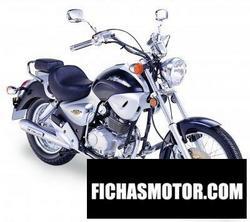 Imagen moto Kymco hipster 4v 2006