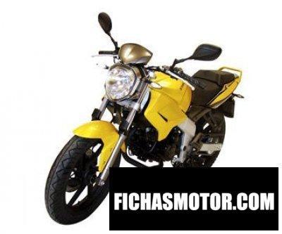 Imagen moto Kymco kr naked 125 año 2010