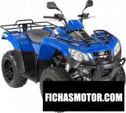 Imagen moto Kymco mxu 400 2010
