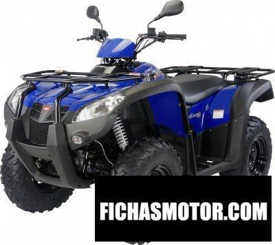 Imagen moto Kymco mxu 500 rl año 2011
