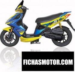 Imagen moto Kymco super 8 2007