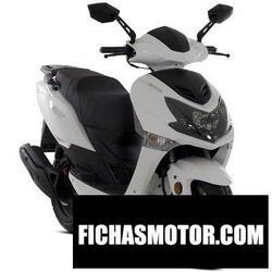Imagen moto Lexmoto fmx 125 2016