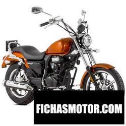 Imagen moto Lexmoto michigan 125 2016