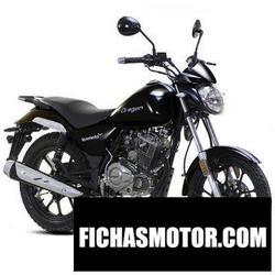 Imagen moto Lexmoto oregon 125 2016