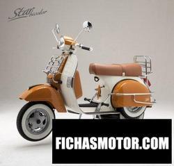 Imagen moto Lml star bicolor vintage 2012