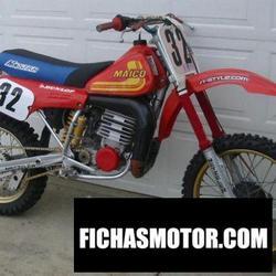 Imagen moto Maico gp 250 e 1987