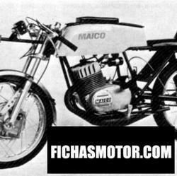 Imagen moto Maico md 125 super sport 1970