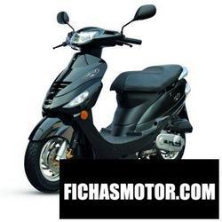 Imagen moto Malaguti dvd 50 2011