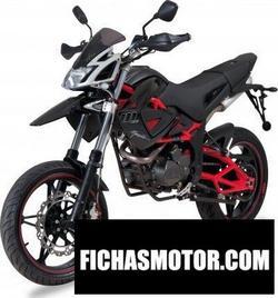 Imagen moto Megelli supermoto 125 m 2013