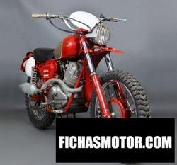 Imagen de Moto guzzi regolarita 250 año 1960