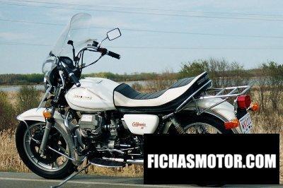 Ficha técnica Moto guzzi v 1000 California ii 1984