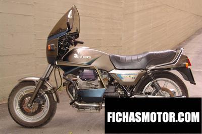 Ficha técnica Moto guzzi v 1000 sp ii 1987