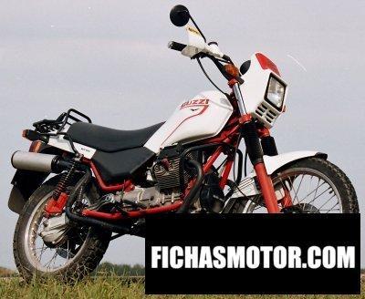 Ficha técnica Moto guzzi v 65 tt 1985