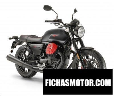Ficha técnica Moto Guzzi V7 III Carbon 2020