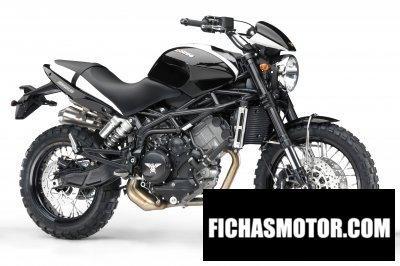 Ficha técnica Moto morini scrambler 2010