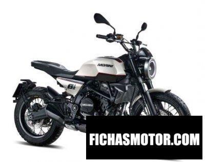 Ficha técnica Moto Morini Seiemmezzo 2020