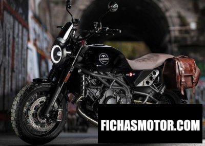 Ficha técnica Moto Morini Super Scrambler 2020