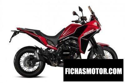 Ficha técnica Moto Morini X-Cape 2020
